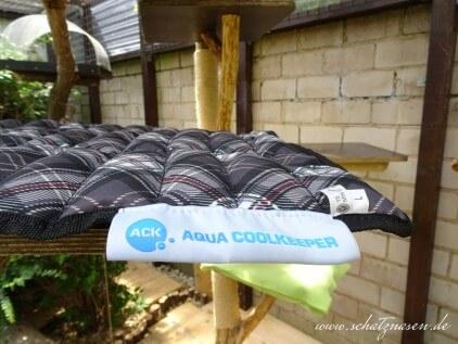 Aqua Coolkeeper eine Kühlmatte für deine Katze