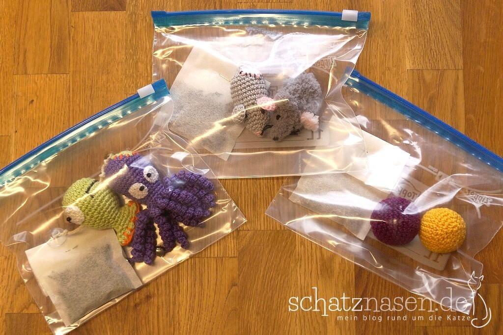 Extrem Ein Aromasafe für Duftspielzeug herstellen - Katzenspielzeug DIY PV62